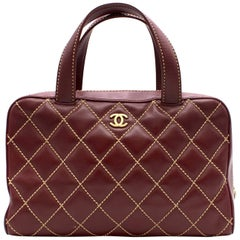 Chanel Top Handle Cherry Quilted bag