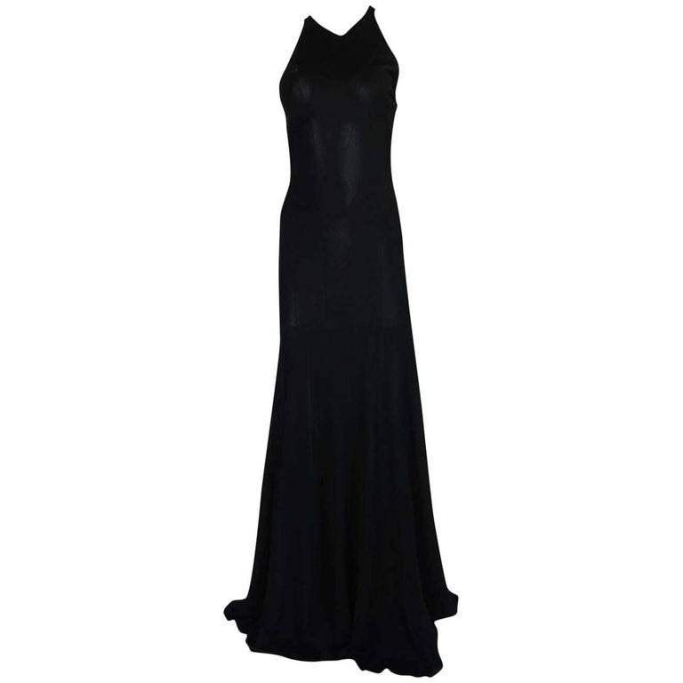 Documented F/W 2001 Azzedine Alaia Couture Runway Dress For Sale