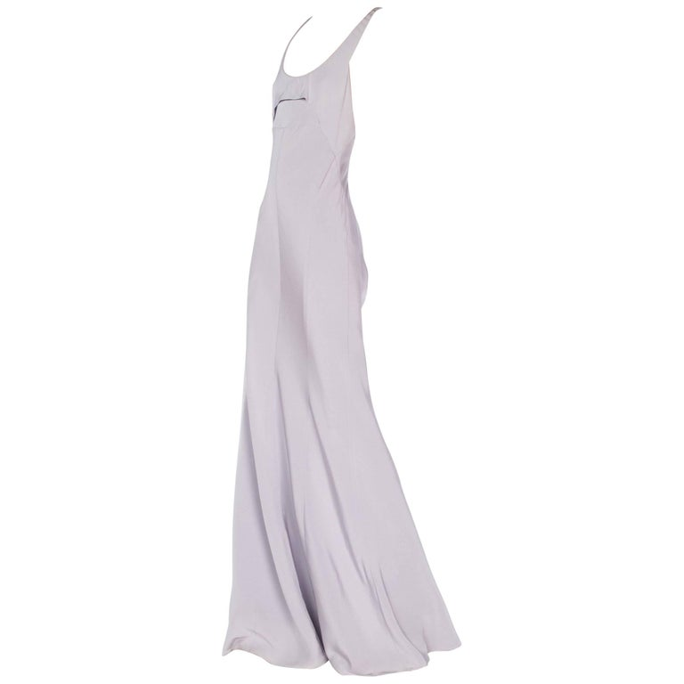 Narciso Rodriguez Lavender Gown, 1990s