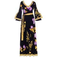 1970s Leonard Jersey Dress