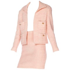 1990s Pink Chanel Suit