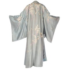 Edwardian Hand-Embroidered Kimono