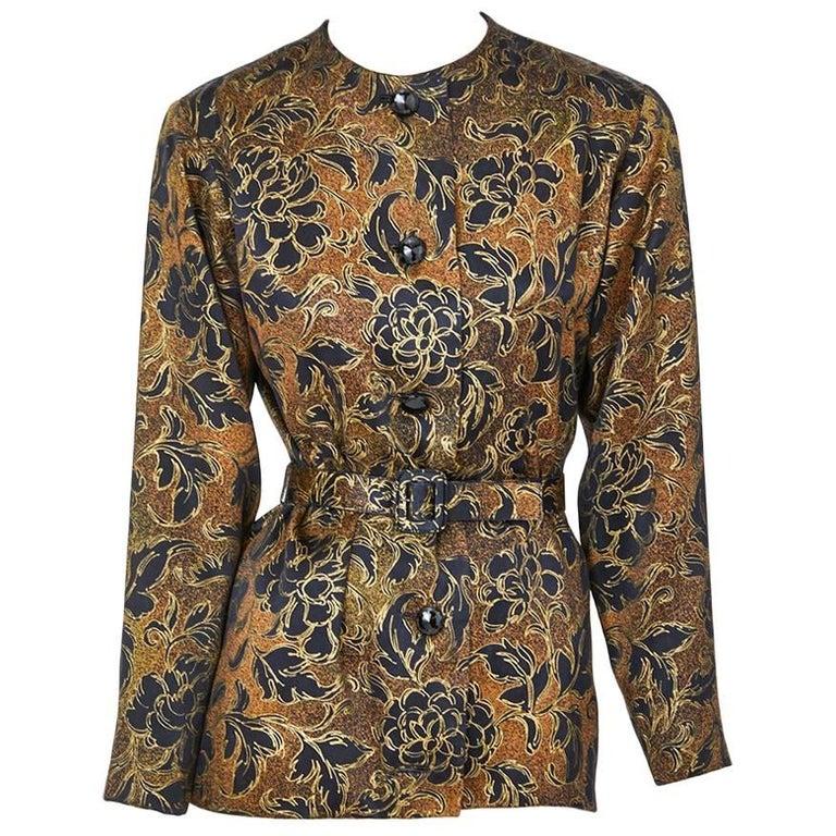 Yves Saint Laurent Couture Evening Jacket For Sale