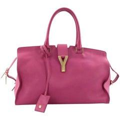 Saint Laurent Classic Y Cabas Leather Medium