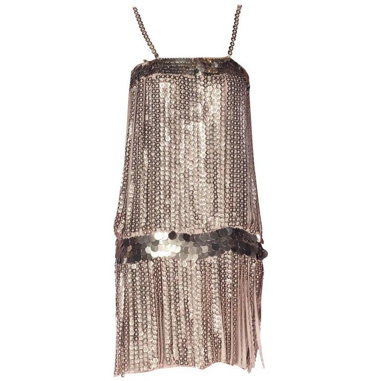 Metal Fringe Dress