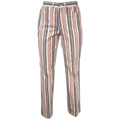 1960s Wrangler Hippie Striped Jeans New, Never worn USA