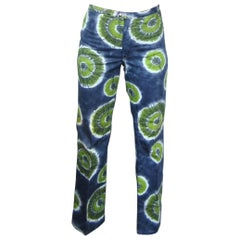 VIntage 1960s New Never worn Dead Stock Tie Dye Wrangler Jeans