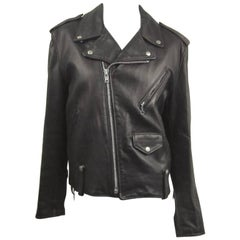 Vintage Schott NYC Perfecto MOTORCYCLE Leather Jacket New, Never Worn