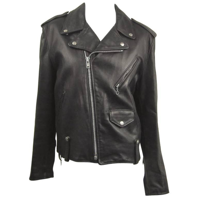 0bcde2237 Vintage Schott NYC Perfecto MOTORCYCLE Leather Jacket New, Never Worn