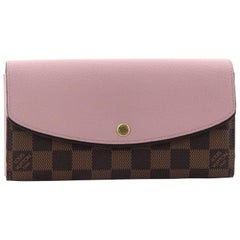 Louis Vuitton Normandy Wallet Damier and Calf Leather