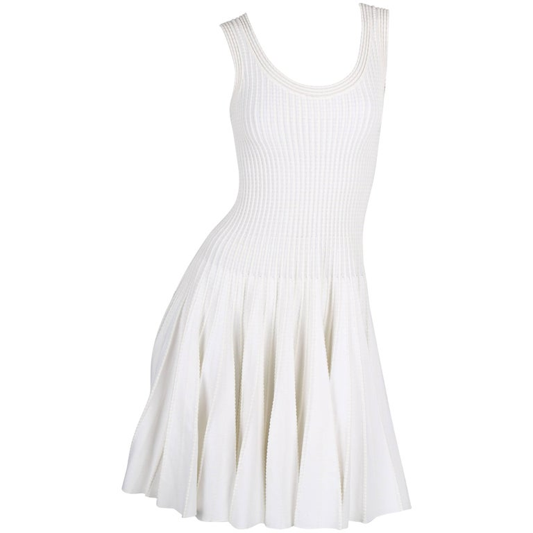 ALAIA Dress - white For Sale