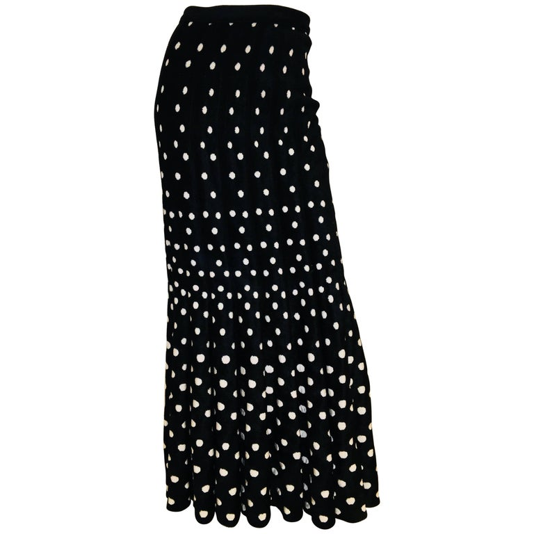 Alaia Maxi Skirt