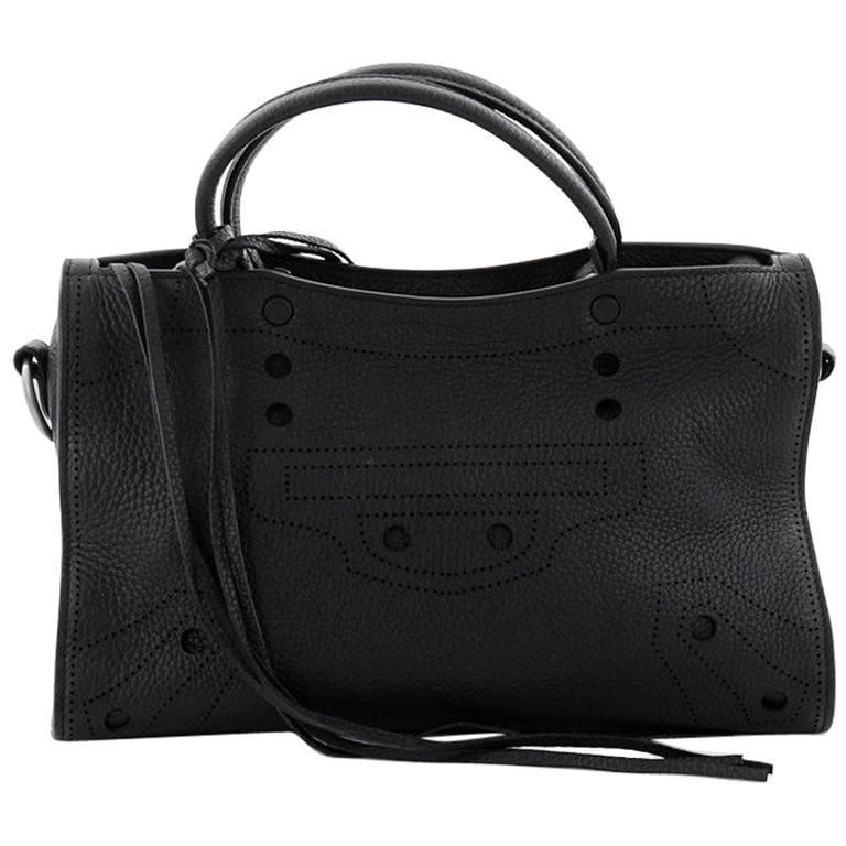960274a0ed8c Balenciaga Blackout City AJ Handbag Leather Small at 1stdibs