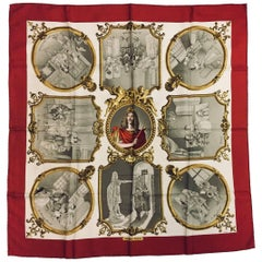 Hermès Comedie Francaise - Moliere Silk Twill Scarf by Phillippe Ledoux