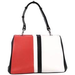 Prada Baiadera Frame Bag Calfskin Small