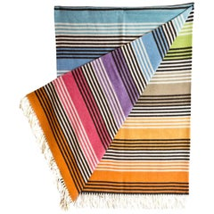 Missoni Home Multi-Colored Ruggero Throw Blanket with Box