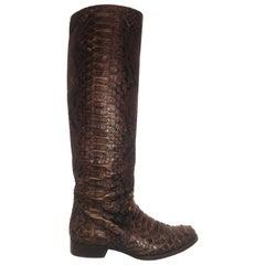 Michael Kors Python Boots
