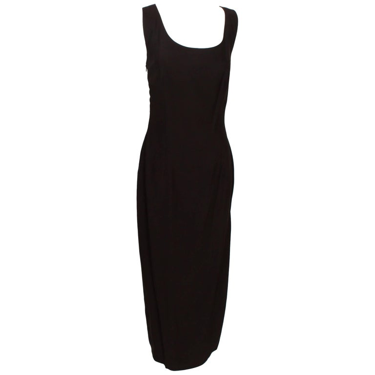 Dolce & Gabbana Full length Backless Sheath Dress