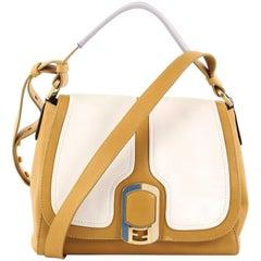 Fendi Anna Flap Bag Leather