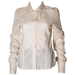 Christian Dior Silk Shirt