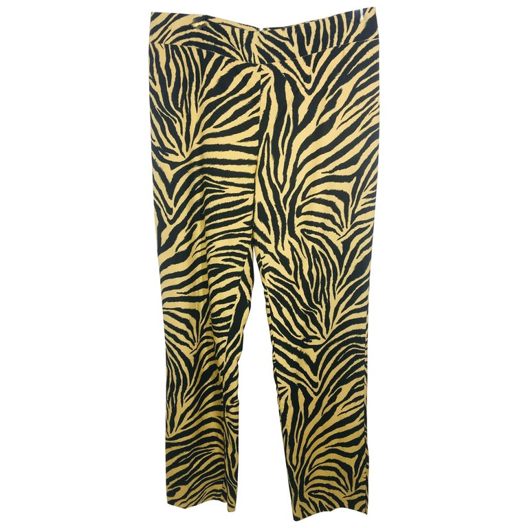 Carolina Herrera Animal Print Pant