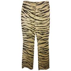 Dolce & Gabbana Animal Print Pant