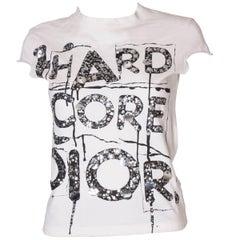 Christian Dior 'Hard Core Dior ' Cotton T Shirt