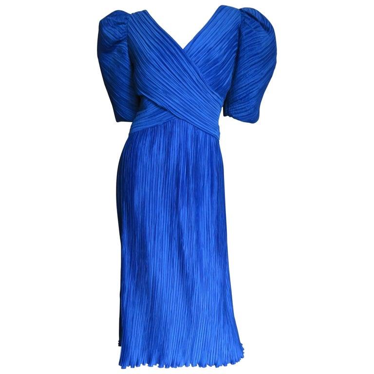 1980s Richilene Wrap Dress