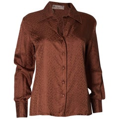 Vintage Gucci Silk Shirt