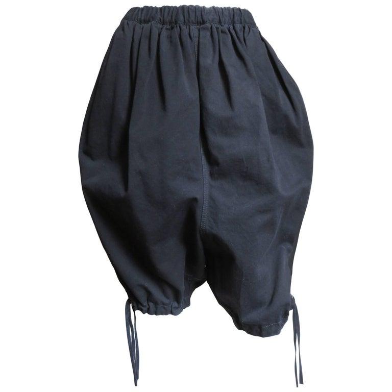 2000s Comme des Garcons Dropped Crotch Harem Pants
