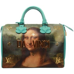 Louis Vuitton LV X Koons Masters Da Vinci Speedy 30 Bag