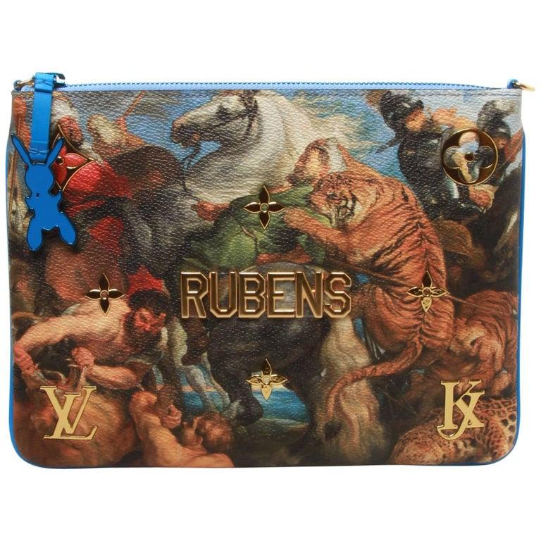 Louis Vuitton LV X Koons Masters Rubens Clutch