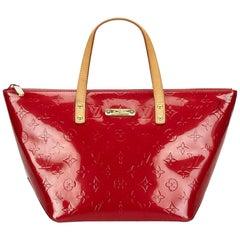 Louis Vuitton Red Vernis Bellevue PM