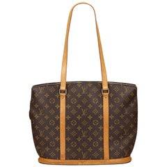 Louis Vuitton Brown Monogram Babylone