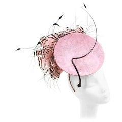Philip Treacy London Bespoke Pink Floral Headpiece
