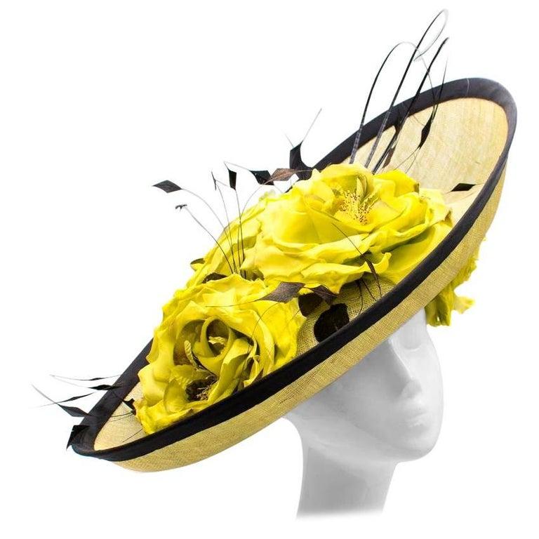 Siggi London Bespoke Floral Headpiece