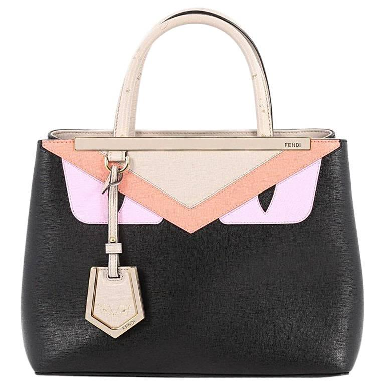 Fendi 2Jours Monster Handbag Calfskin Petite at 1stdibs 26112c747e689