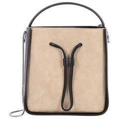 3.1 Phillip Lim Soleil Bucket Bag Suede with Leather Small