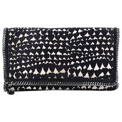 Stella McCartney Falabella Fold Over Clutch Printed Canvas