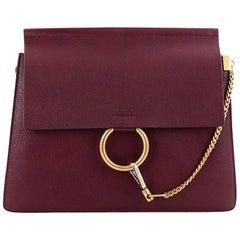 Chloe Faye Shoulder Bag Leather Medium