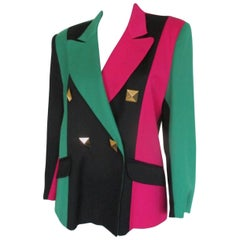 multicolor vintage jacket