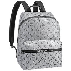 Louis Vuitton Monogram Silver Reflect Apollo Backpack Split   NEW