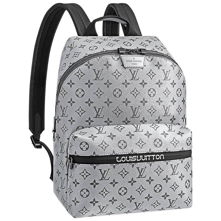 Louis Vuitton Monogram Silver Reflect Apollo Backpack Split   NEW