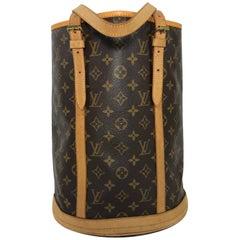 Louis Vuitton Monogram Bucket Bag GM Shoulder Bag