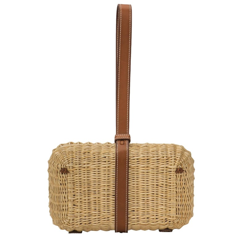 Hermes Picnic Barenia Clutch Bag, 2017 For Sale