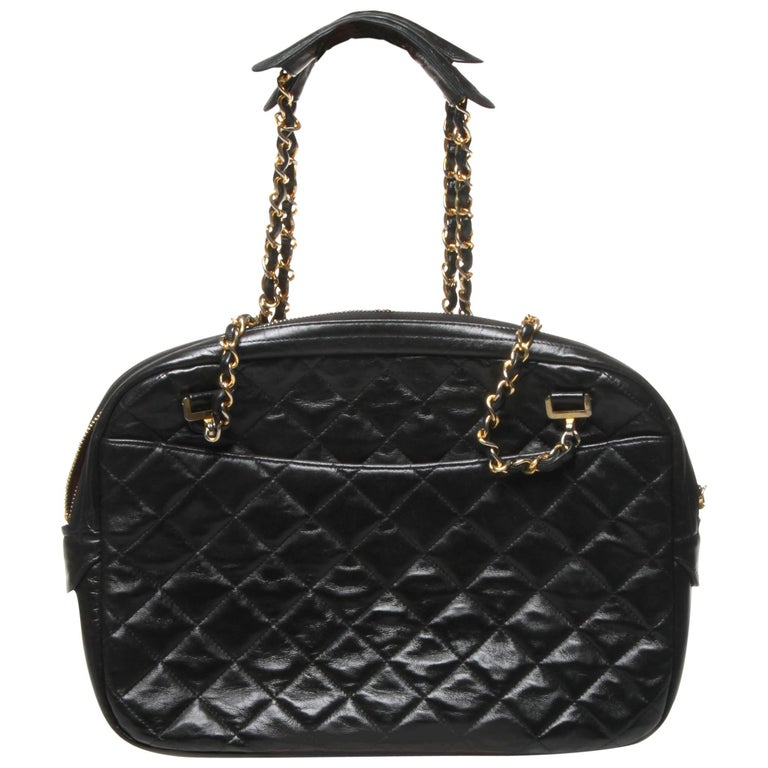 Chanel Medium Quilted Camera Bag