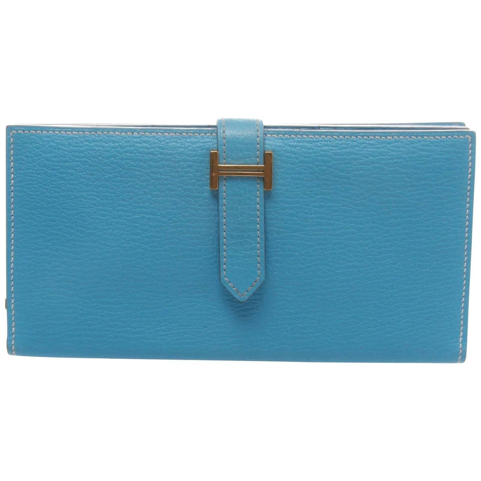 Hermès Hermes Anemone Blue Izmir Fauve Rodeo Leather Charm Pm Fun tbArGa9q