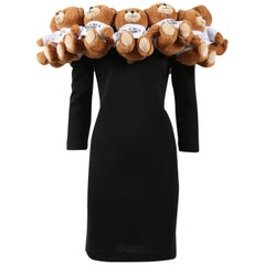 Moschino Couture Teddy Bear Dress