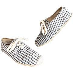 Dolce & Gabbana New Men's 1990s Size US 8 / 8.5 EU 41.5 Espadrilles 90s Shoes