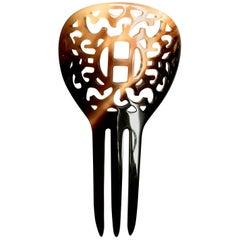 Hermes Horn Hair Clip / Comb